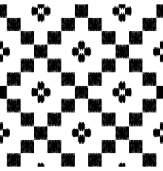 hand drawn tribal seamless pattern in mexican vector image