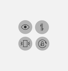 Icon sign or symbol element 27 vector