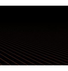 Lines perspective dark background vector