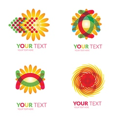 Logo sun 1 vector