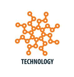 Logo technology vector