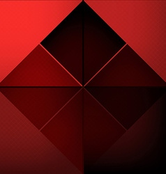 Red squares abstract background vector