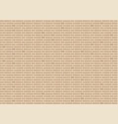 Seamless monk bond sandstone brick wall texture vector