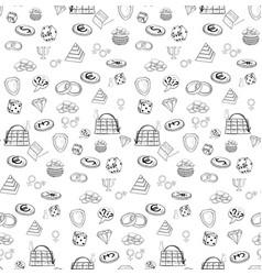Seamless pattern training vector