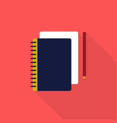sketchbook icon set of great flat icons design vector image