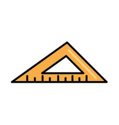 Triangle ruler tool repair maintenance and vector
