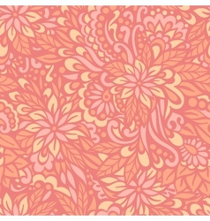 Flowering Garden Seamless decorative pattern vector image vector image