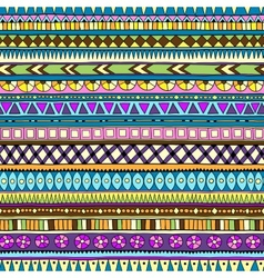 Original drawing tribal doddle ethnic pattern vector image vector image