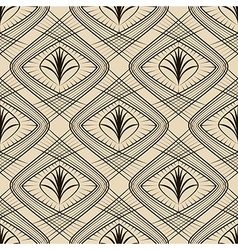 Seamless beautiful geometric pattern ornament vector image vector image
