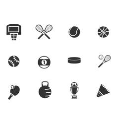 Sports Balls icons set vector image vector image