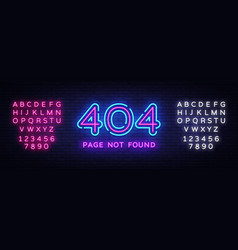 404 page not found banner 404 error design vector
