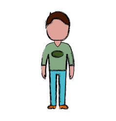 Avatar man icon vector