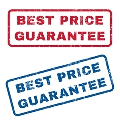 Best price guarantee rubber stamps vector
