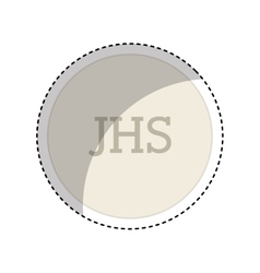 First communion symbol icon vector