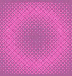 retro halftone diagonal square background pattern vector image