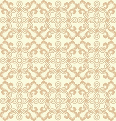 Seamless delicate geometric pattern vector image