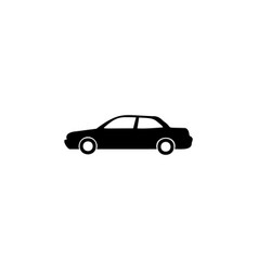 sedan icon element of car type icon premium vector image
