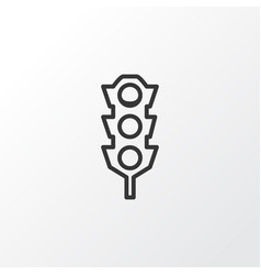 Traffic lights icon symbol premium quality vector
