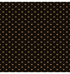 Gold mesh vector
