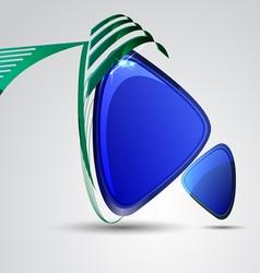 Decorative modern frame vector