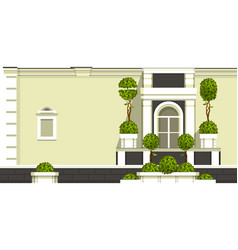 gardening of balconies vector image