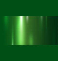 green metal texture background vector image
