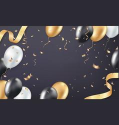 Holiday celebration background vector