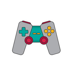 Joystick flat icon vector