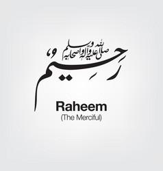 Raheem vector
