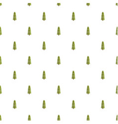 sequoia leaf pattern seamless vector image