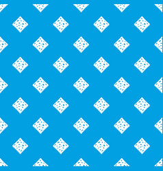 Tofu fresh block pattern seamless blue vector
