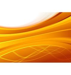 Transparent orange background template - folder vector