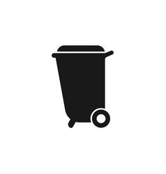 trash can icon bin trash icon bin trash vector image