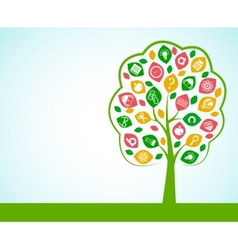 Tree of knowledge concept vector
