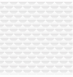 white geometric seamless pattern vector image