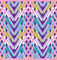 woven chevron pattern seamless pattern vector image