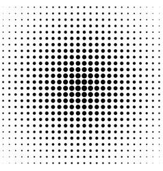 geometrical halftone circle pattern background - vector image