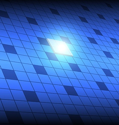 tech square button vector image vector image