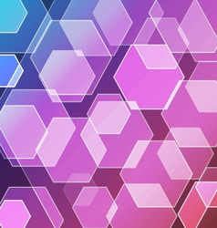 Bokeh blur with violet background vector image vector image
