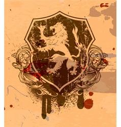 vintage grunge emblem vector image vector image