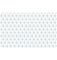 abstract white geometric repeating background vector image vector image