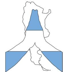 Argentinian pray vector image