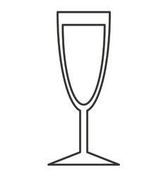 drink glass bar isolated icon vector image