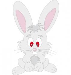 rabbit vector vector image