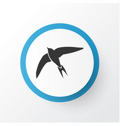 swift icon symbol premium quality isolated vector image
