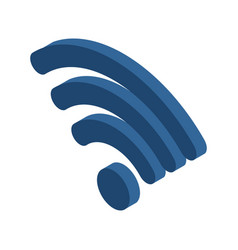 Wi-fi sign wifi symbol wireless connection icon vector