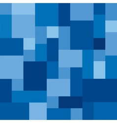 Abstract Blue Background from Rectangles vector image