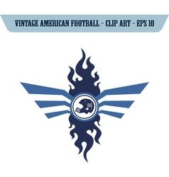 Football design elements vector