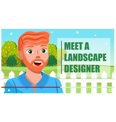 online interview shooting or streaming vector image