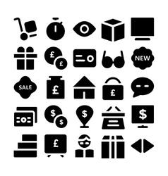 Trade Icons 2 vector
